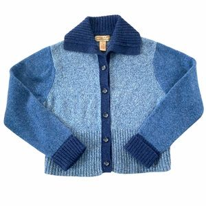 Vintage Telluride Colorblock Cardigan SZ L